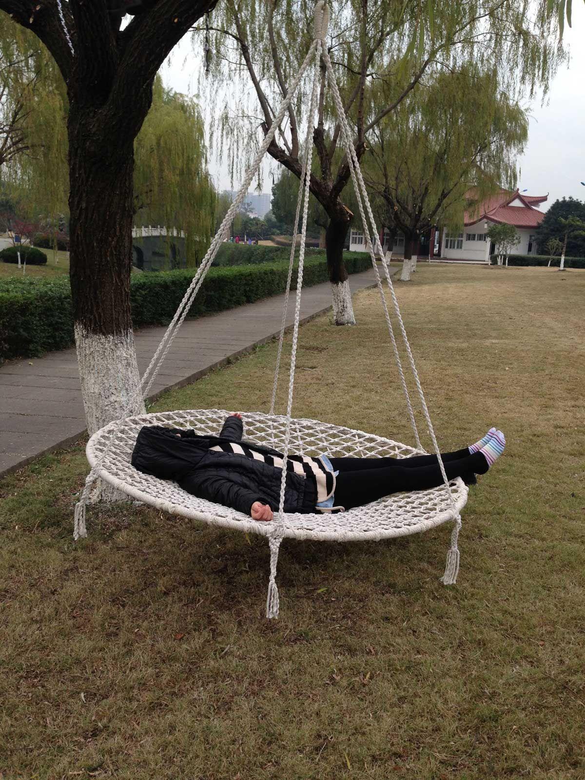 Garden Hammock Swing Bed in 2020 Outdoor hammock bed