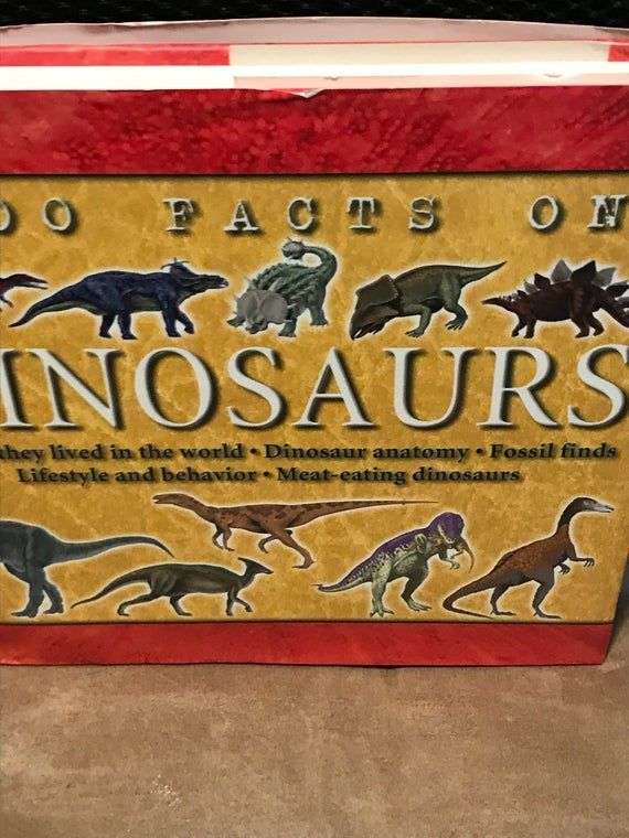 1000 Facts on Dinosaurs - Steve Parker - Mint Condition