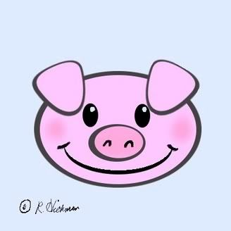 cartoon pig face google search pig party pinterest face rh pinterest com cartoon pig face cute cartoon pig face outline