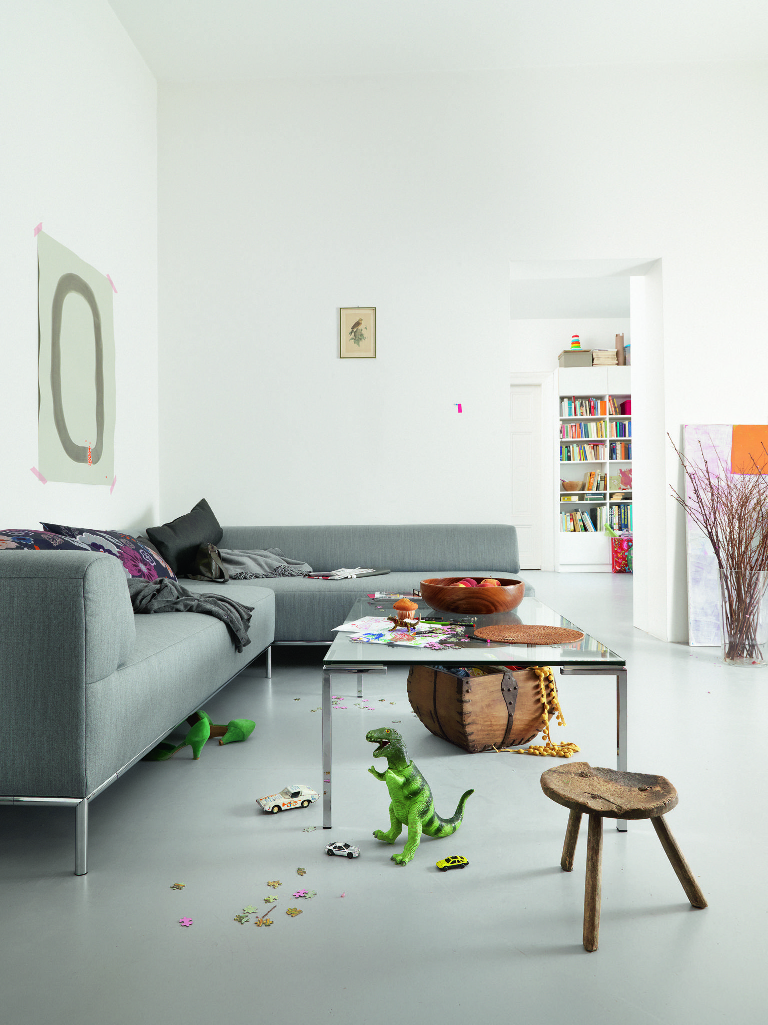 Freistil 185 sofa stylish timeless and natural Available at