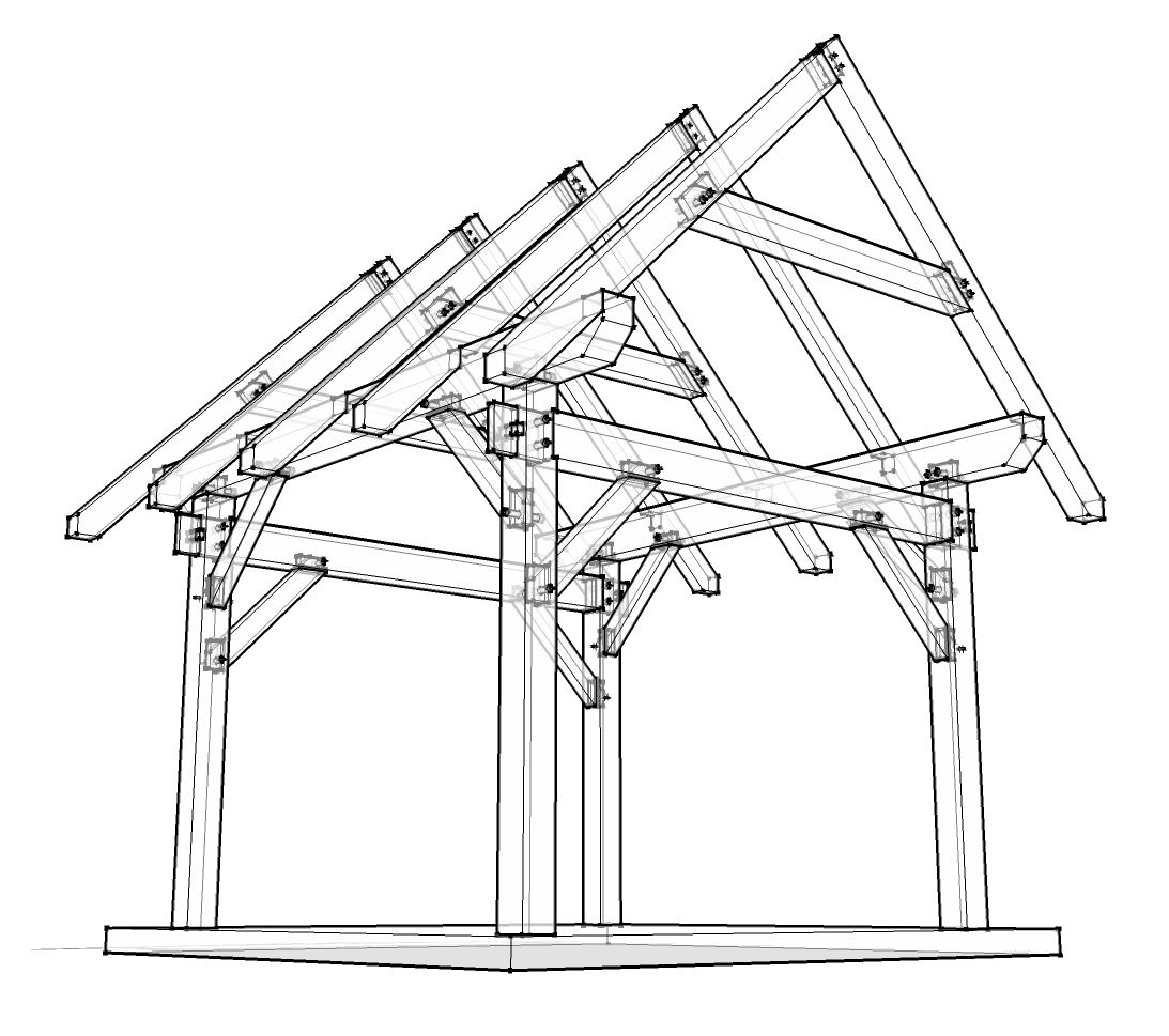 12x12 Timber Frame Plan Woodworking