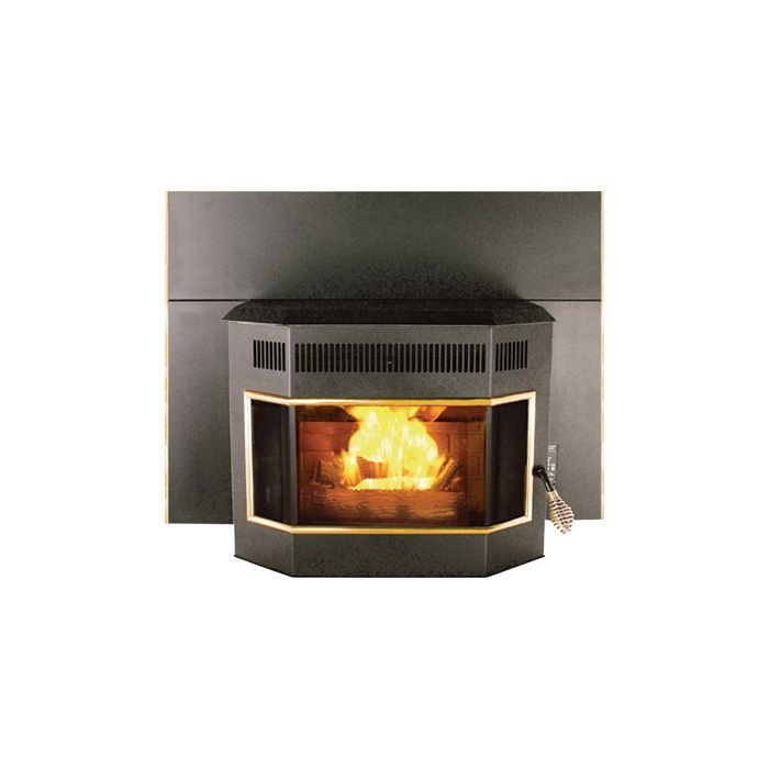 Pelpro Fireplace Insert Stove With Bay Window Model Ippbw2gd Corn Pellet Multi Fuel Heaters Northern Tool Equipment