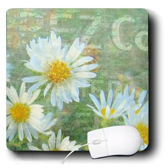 3drose Cassie Peters Flowers Daisy Co Digital Art By Angelandspot Mouse Padsproduct Image Art Art Prints Daisy