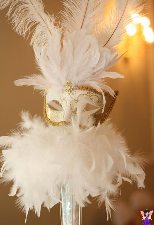Baile de máscaras festa anos debutante tema