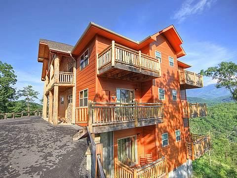 Majestic Overlook: 12 Bedroom Cabin In Gatlinburg With Fireplace And Hot  Tub   TripAdvisor
