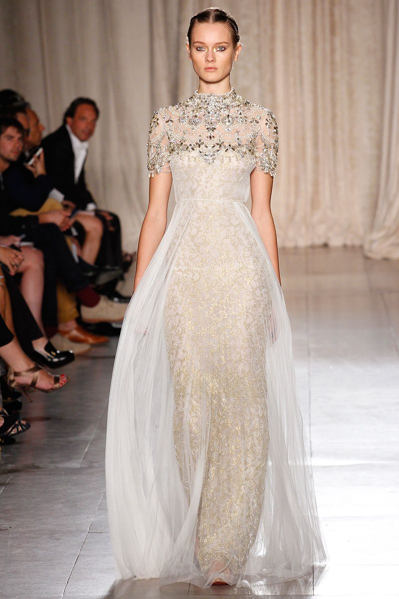 Marchesa Spring 2013 | Beautiful, Baroque and Wedding