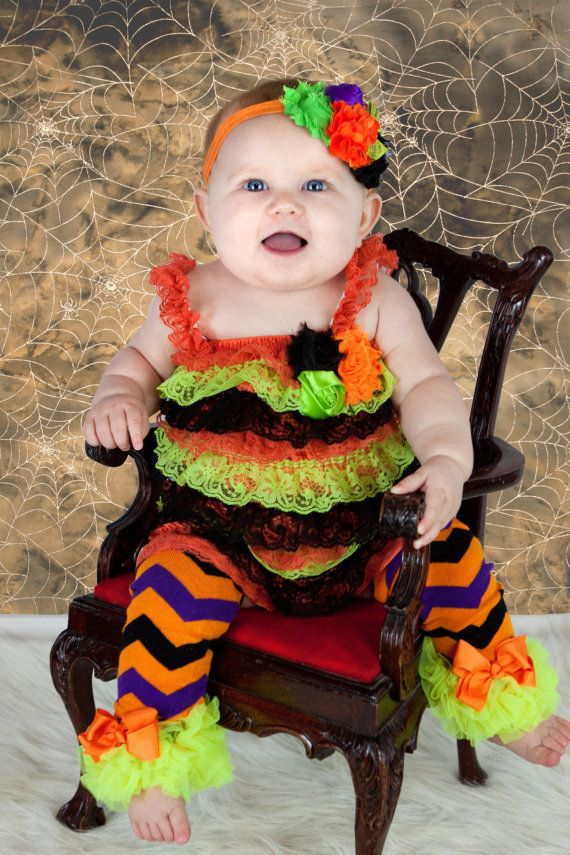 halloween leg warmers leggings baby girl by babybloomzboutique