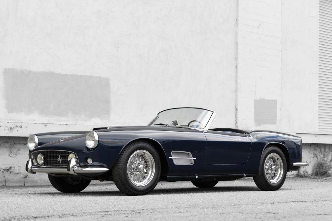 auction block- 1959 ferrari 250 gt lwb california spider 3 | cars