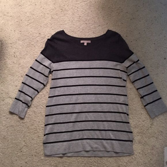 Banana Republic Sweater. Banana Republic grey and black sweater ...