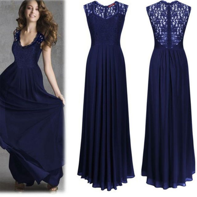 Formal Long Evening Prom Party Dress Bridesmaid Dresses Ball Gown ...
