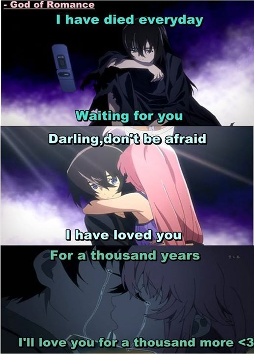 Anime: Mirai Nikki. Song: 1,000 Years