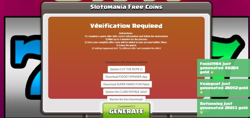 Slotomania hack unlimited Coins ios android cheat