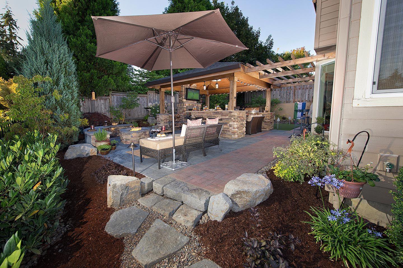 Roscoe Property   Paradise Restored Landscaping. Camas WashingtonBackyard  PatioBrowningStaycationPortland OregonLandscape DesignsTerraceExterior ...