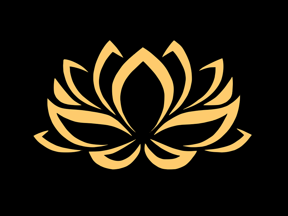 Free Image on Pixabay Flower, Gold, Golden, Lotus in