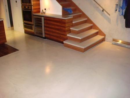 Off White Basement Flooring