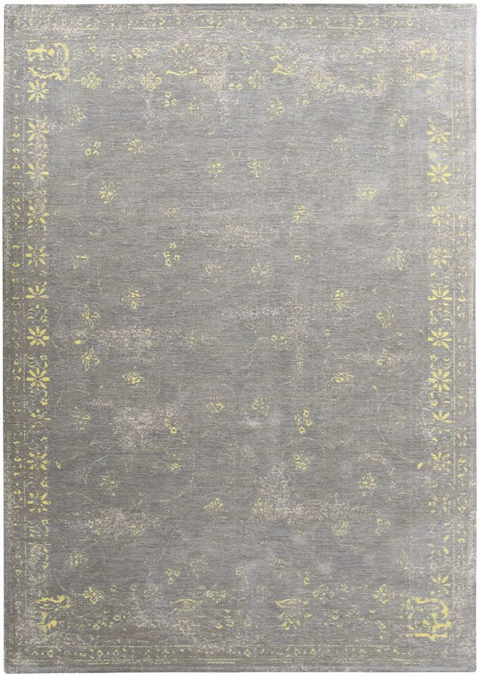 Vintage Teppich Hell Grau