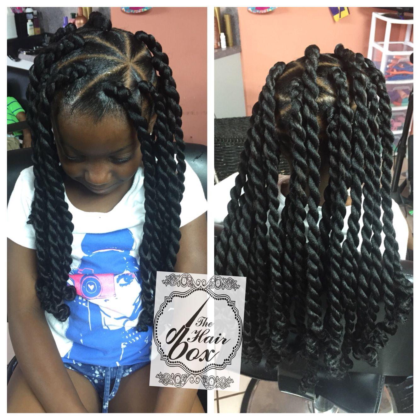 Little Girls Senegalese Twist Kids Hair Styles