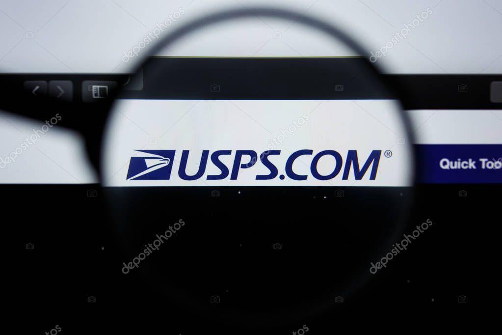 Los Angeles California Usa 21 Jule 2019 Illustrative Editorial Of Usps Webs Sponsored Usa California Los Angeles Ad