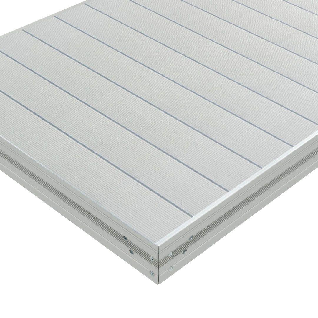 Premium Aluminum Dock Section W X2f Aluminum Decking Non Slip