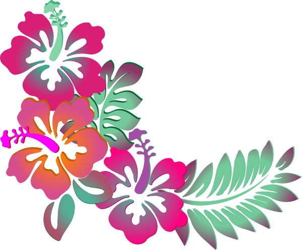 Pin By Melinda Cunningham On Peyton Beck In 2020 Hibiscus Clip Art Flower Clipart Flower Border Clipart