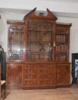 Canonbury Antiques - Breakfront Bookcases