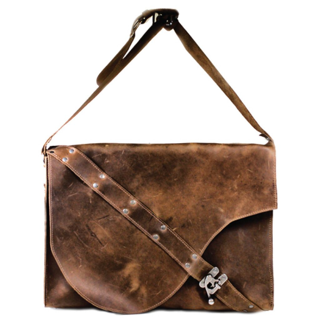 New on Oak Roads - we're now carrying this brilliant leather laptop messenger bag, handmade in Vancouver, Canada!