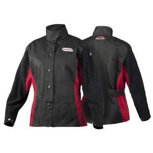 Black Stallion AngelFire BW9C//PS Women/'s Welding Jacket w// Leather Sleeves XS-XL