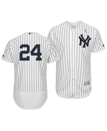 740c499dc Majestic Men s Gary Sanchez New York Yankees Mother s Day Flexbase Jersey -  White 44