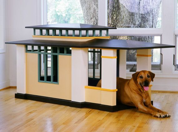 Indoor Prairie Style Doghouse By Artfuldogs On Etsy 7900 00