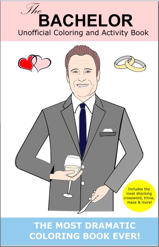 The Bachelor Coloring Book Chris Harrison Colton Pilot Pete Etsy The Bachelor Tv Show Chris Harrison Bachelor Nation