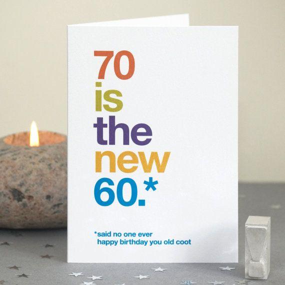 Funny 70th Birthday Card 70 Card Sarcastic 70th Birthday Etsy 70th Birthday Card Happy Birthday Quotes Funny Birthday Humor