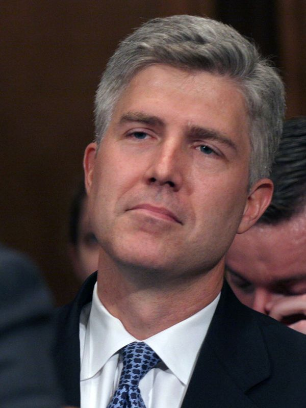 Neil Gorsuch at his nomination hearing to the United States Court of Appeals for the Tenth Circuit on Wednesday, June 21, 2006 on Capitol Hill in Washignton.  Photo courtesy of Lauren Victoria Burke/The Denver Post