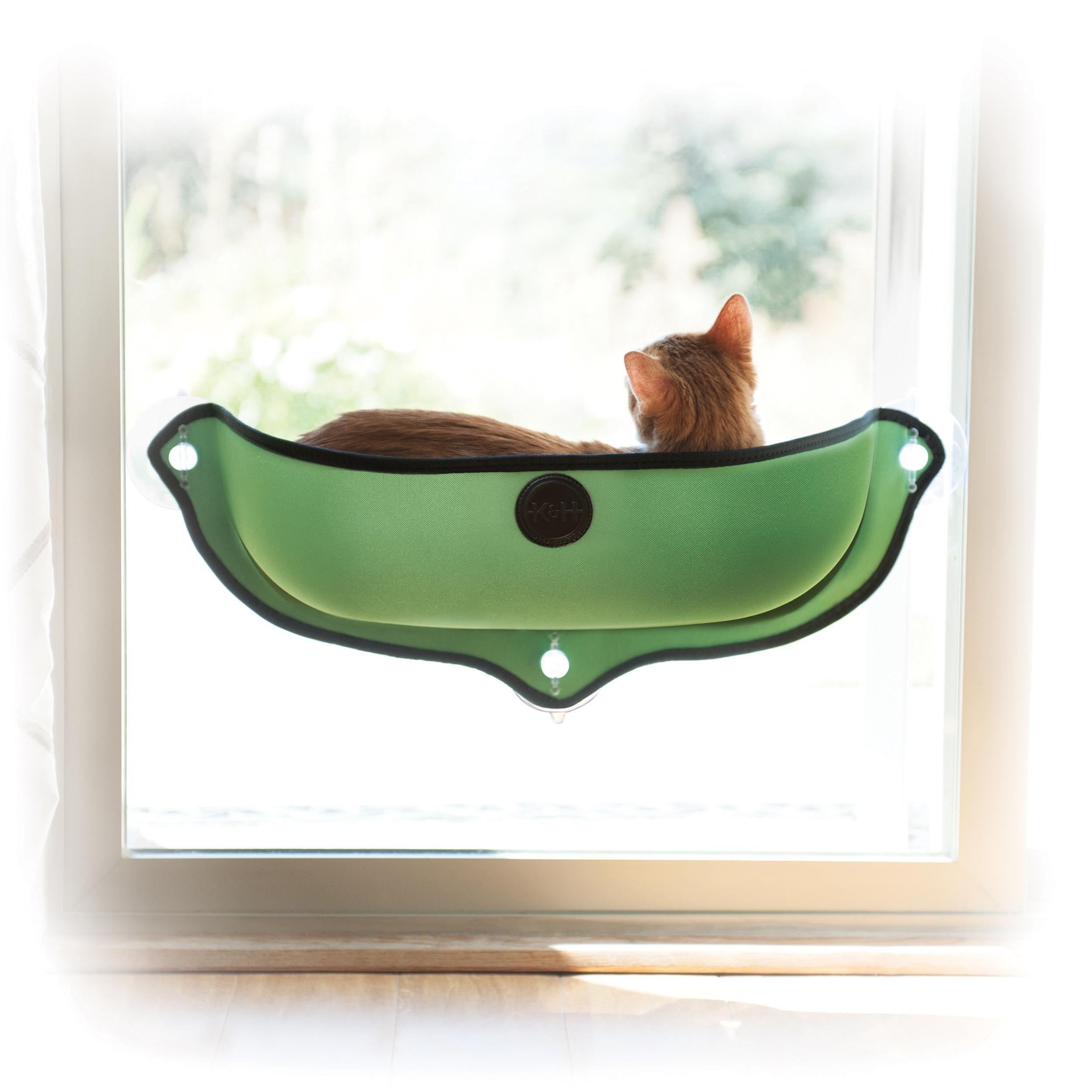 Houses, Kennels & Pens Fine 2018 Sucker-style Cat Hammock Window Cat Basking Window Perch Cushion Sunny Dog Cat Bed Hanging Shelf Seat Great For Multiple