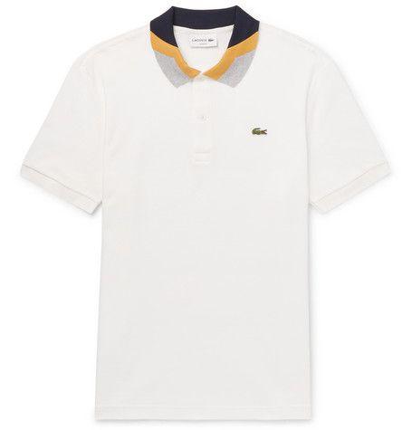 1c9de09970bcb Camisa Pólo, Camisas Pólo, Bloqueio De Cor, Lacoste Para Homens, Picolés