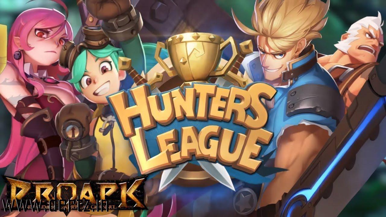 Download Hunters league Weapon masters art of battle war