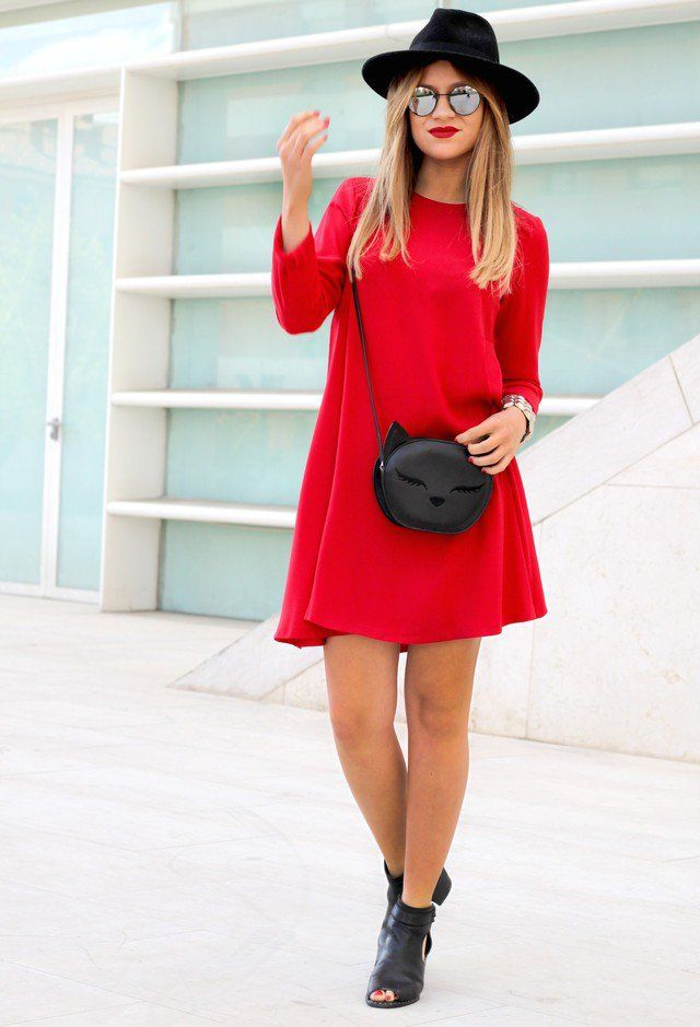 8045e505c465 15 Beautiful Red Dress Outfits for Valentine s Day