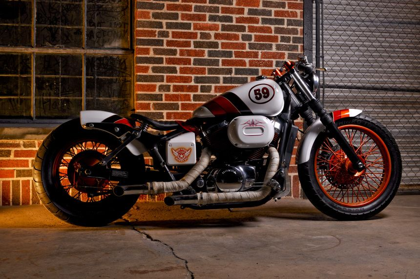 Honda vt750 houston retro bobber s cafe influenced bobber for Washington dc honda dealers