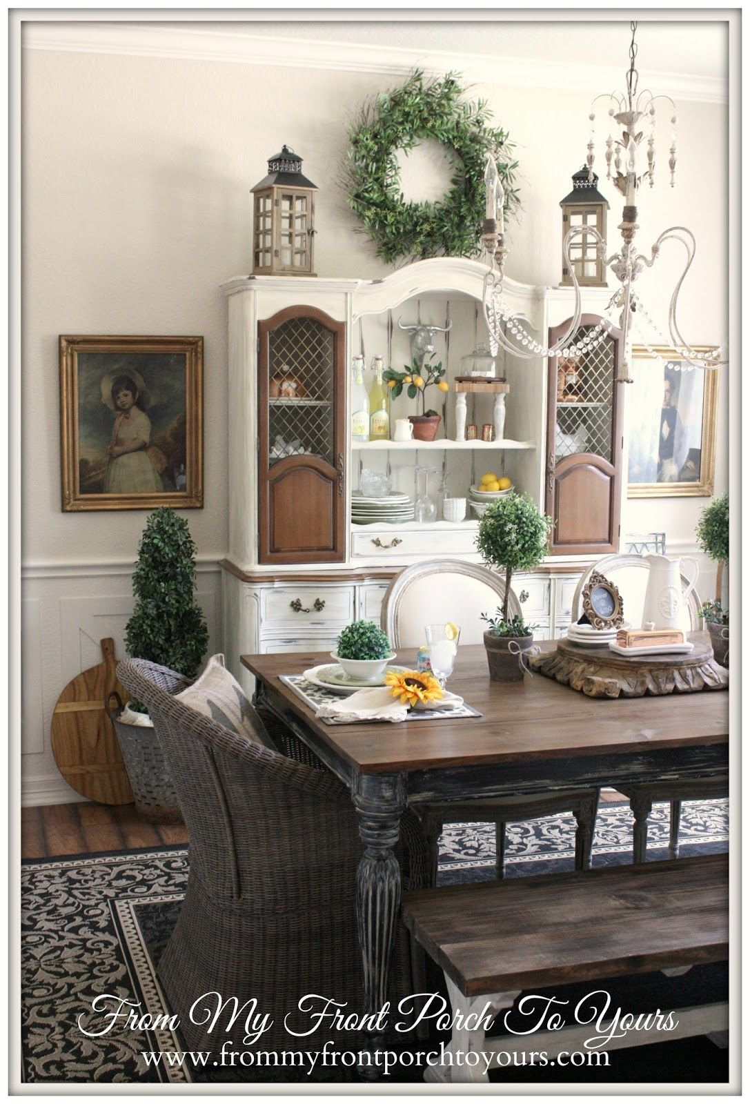 French Farmhouse Dining Room Reveal French Country Dining Room Decor French Country Dining Room Dining Room Design