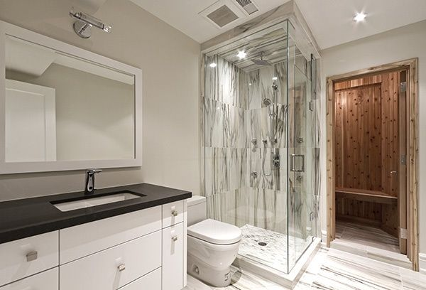 Basement bathroom ideas that looks totally amazing they - Cost to install basement bathroom ...