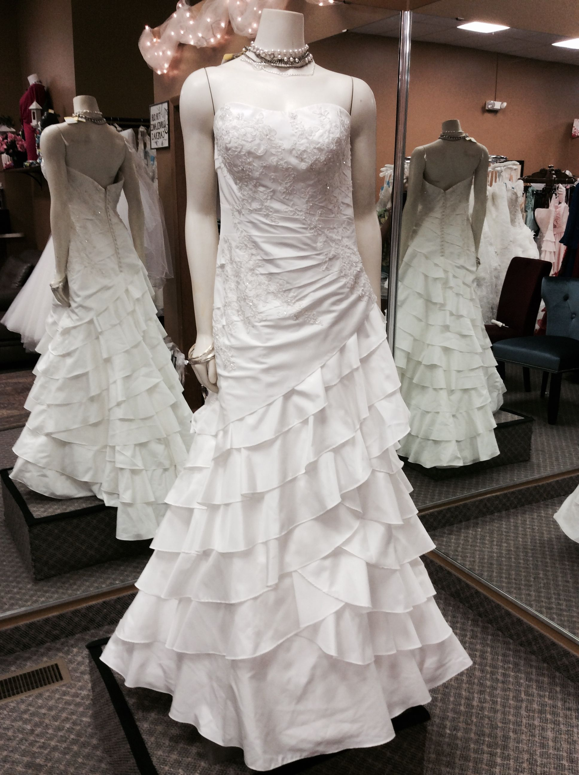 So Many Styles To Choose From High End Wedding Gown Designers Such As Allure Casablanca More The Dress Of Your Dreams Today Or Put