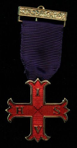 New Masonic RCC Red Cross of Constantine Members Breast Jewel