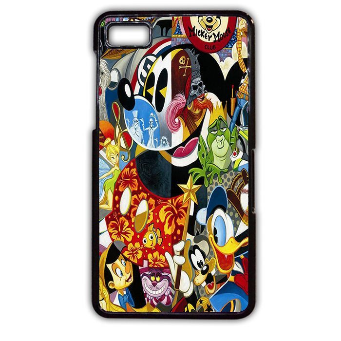 Disney Character Famous TATUM-3316 Blackberry Phonecase Cover For Blackberry Q10, Blackberry Z10