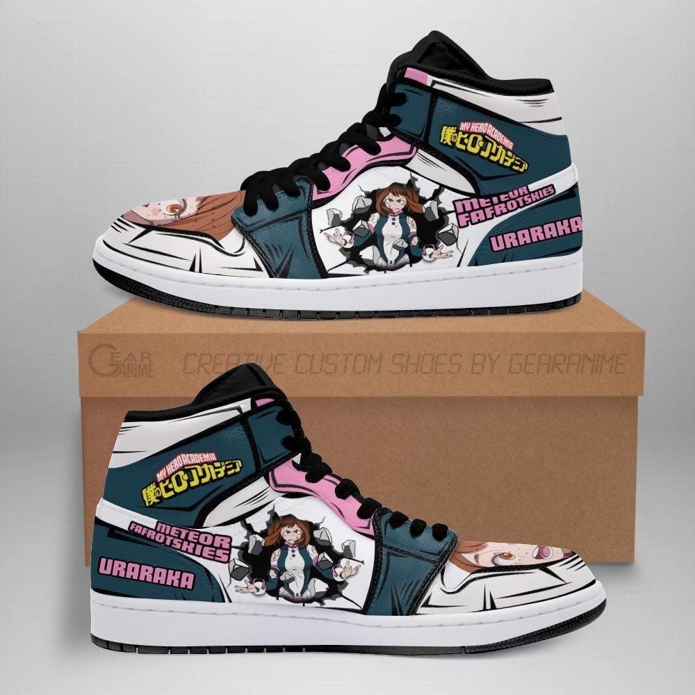 Ochako Uraraka Jordan Sneakers Skill My Hero Acade