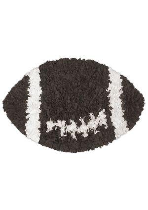 Shaggy Raggy Football Rug Perfect For The Corner Of E S Room But 80 Football Rug Boys Football Room Nursery Rugs