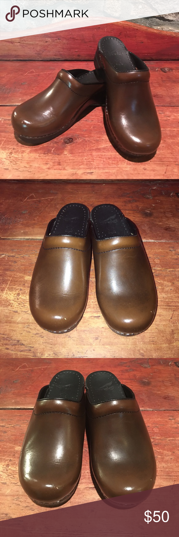Dansko brown leather mule clogs leather mules clogs and dansko dansko brown leather mule clogs nvjuhfo Image collections