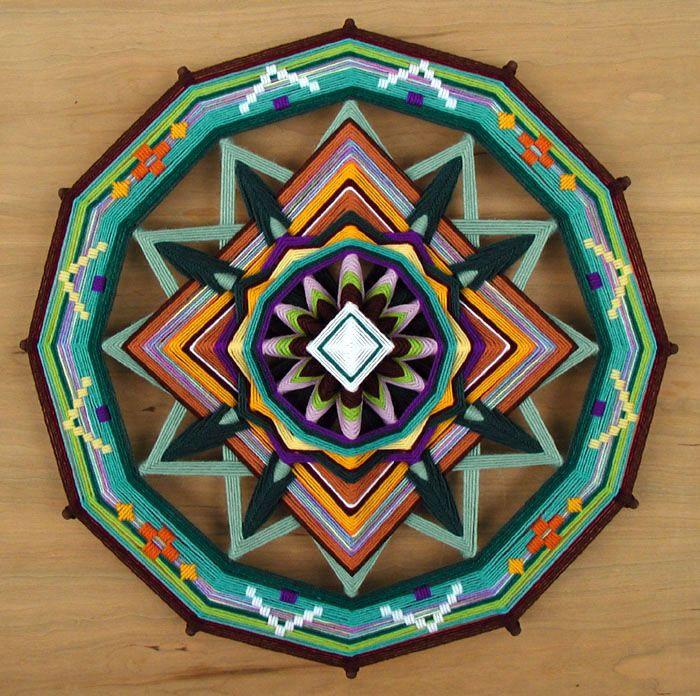 American Indian God's Eye | that i made gods eye eyes american indian made weavinga sided ojo ...
