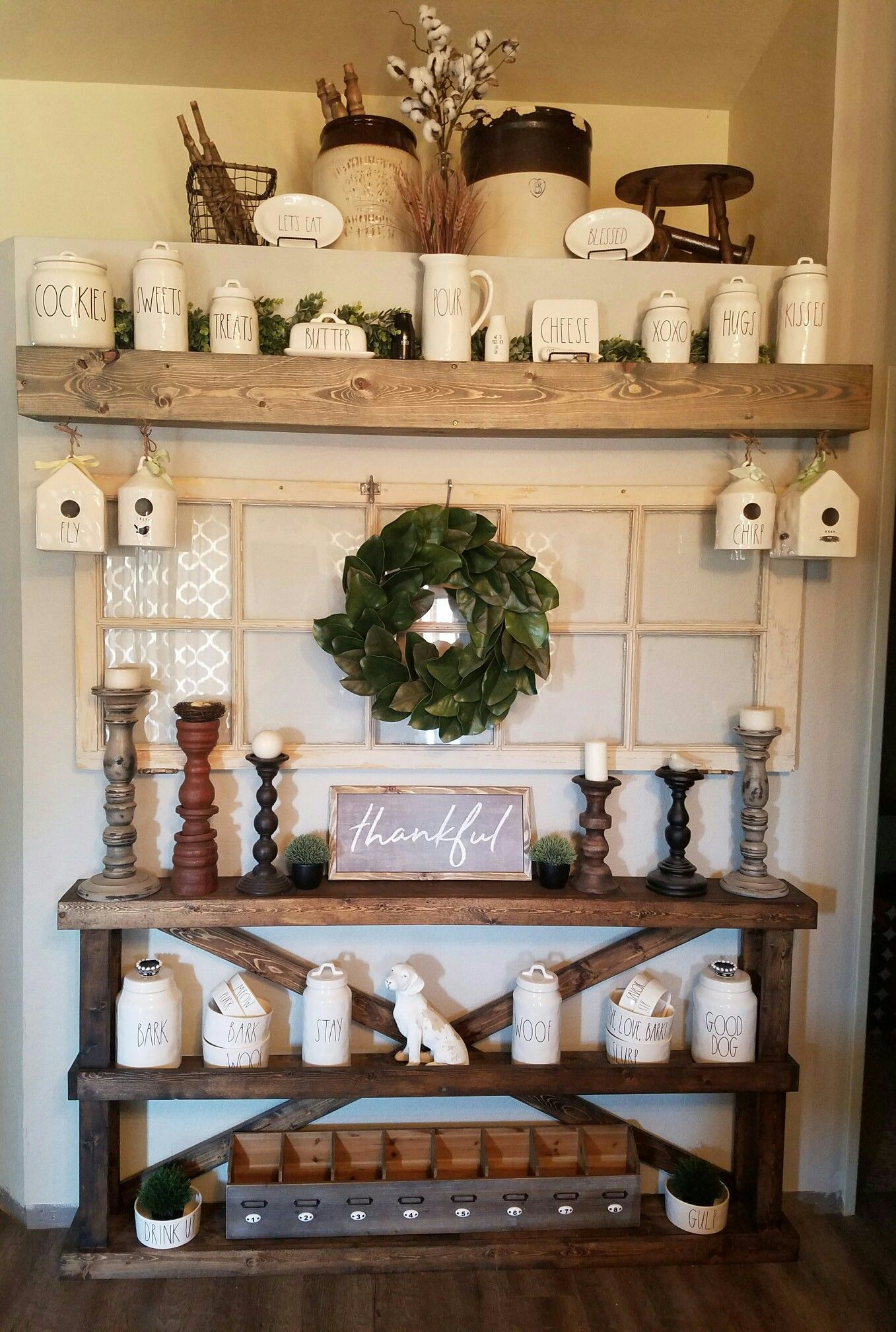 Hutch Decorating Ideas Display Built Ins