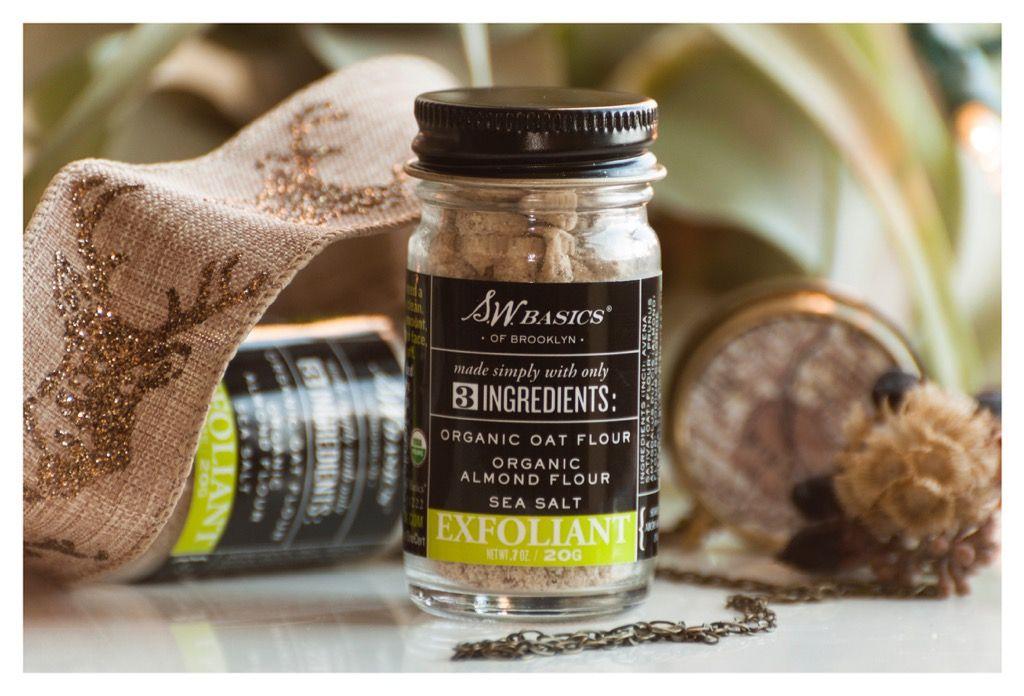 Exfoliant Pure products, Almond flour