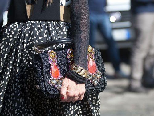 Milan Fashion Week Street Style F/W 2012, Day 5