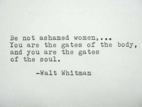 Walt Whitman Quotes Love Delectable WALT WHITMAN Quote Typed On Typewriter ClubBEAUTY Pinterest